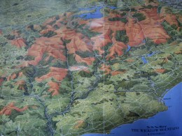 Wicklow Way Karte