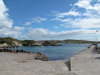 Wandern entlang der Derrynane Bay
