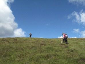 Hoch auf den Eagles Hill