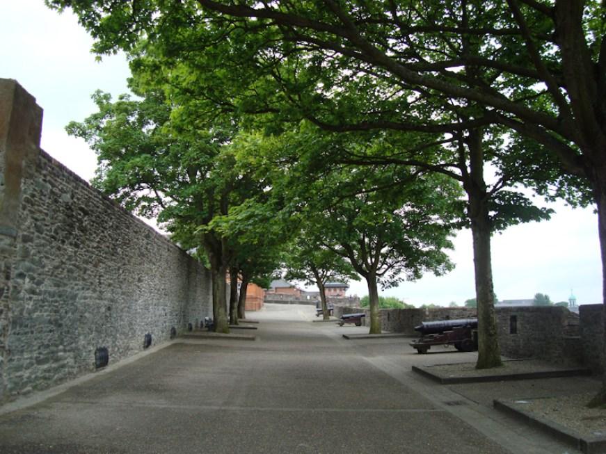 Die Stadtmauer von Derry