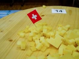 Alpkäsedegustation beim Prättigauer Alpspektakel