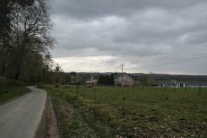 Unterwegs auf dem Rundwanderweg Férage – Houyet