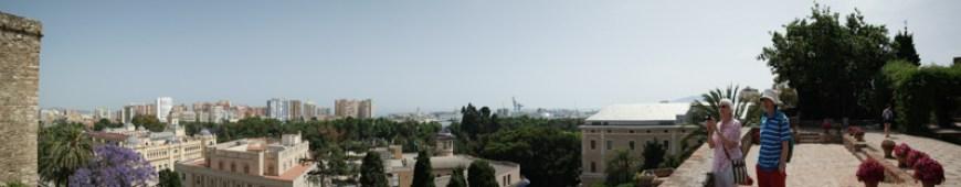 Ausblick vom Alcazaba