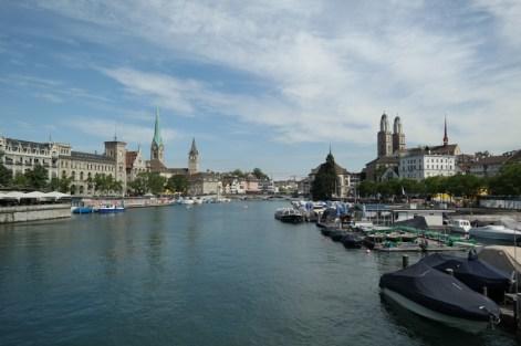 Zürich im Sommer