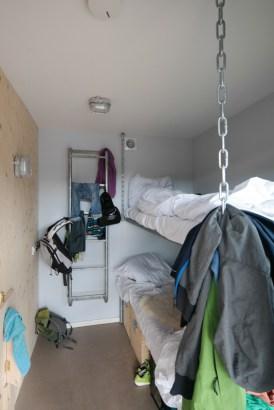 Das Backpack-Shack bei De Lakens in Bloemendaal