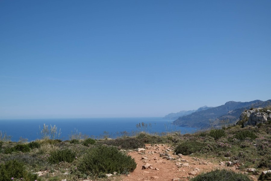 Küstenseite der Traumuntana bis nach Norden