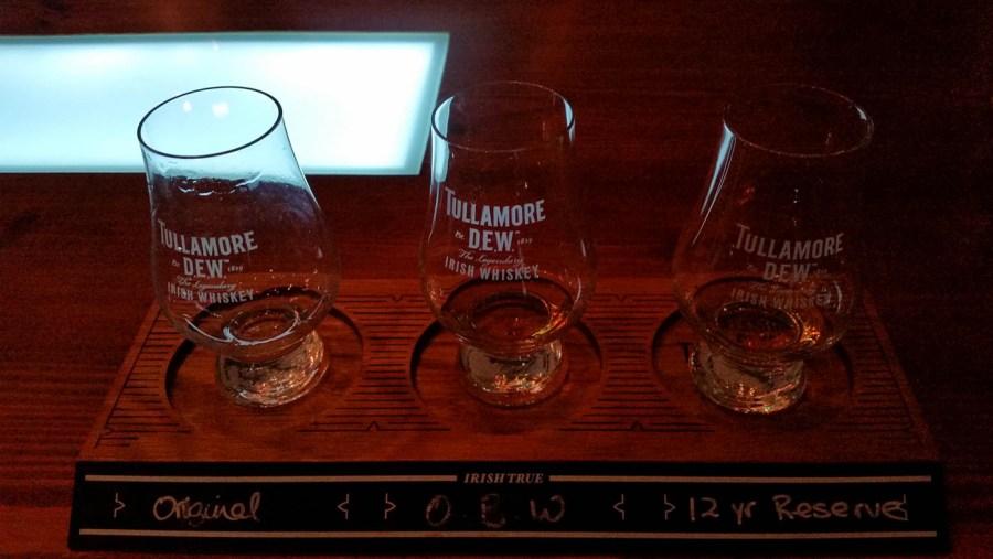 Tasting in der Tullamore Dew Distillery
