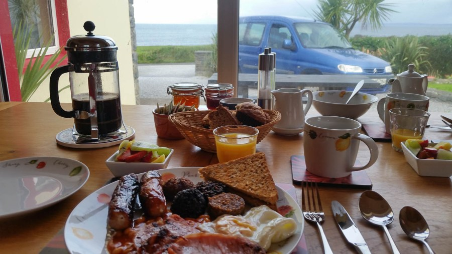 Breakfast at Orchid House