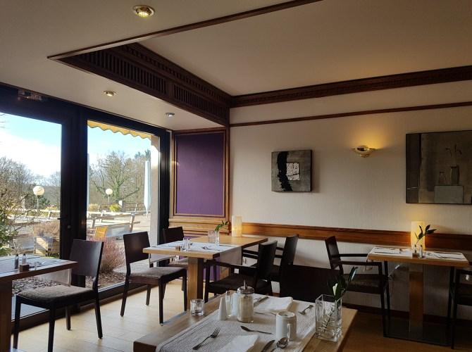 Der Frühstücksraum im La Clairière
