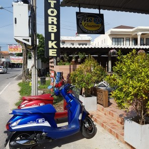 The 14 Khanom – Motorbikes and Car for Rent