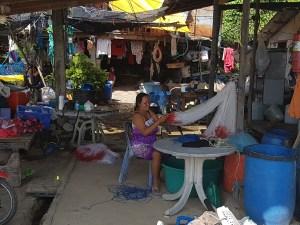 Fischersfrau auf Koh Raet