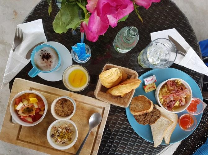 Etwas gegen das Heimweh: kontinentales Frühstück!