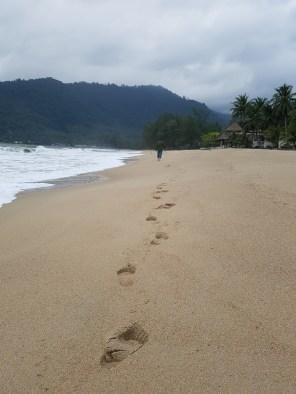 Der einsame Strand von Nai Plao