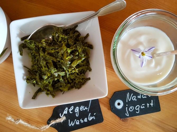 Immer etwas anderes: diesmal Wasabi-Algen