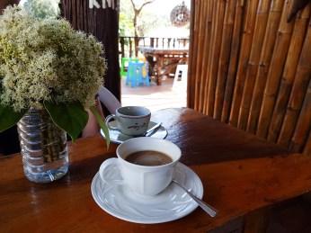 Frischer Kaffee bei Chong Wa