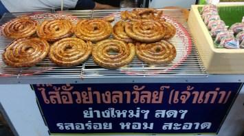 Typisch Chiang Mai Bratwurst