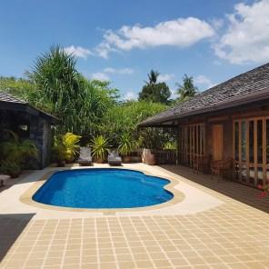 Koh Jum Beach Villas - unsere Pool-Villa