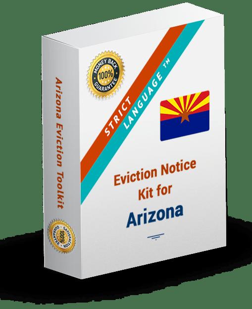 Arizona Strict Language Eviction Notice Kit