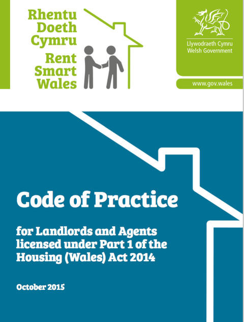 Rent Smart Wales Code Of Practice Announced