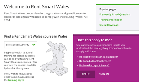 Your Views of Rent Smart Wales Being Sought