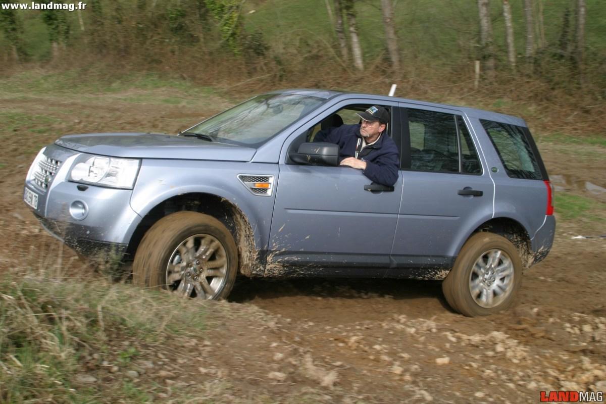 Essai : le Land Rover Freelander 2 en tout terrain