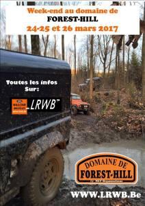 Week-end LRWB (Belgique) au Domaine de Forest Hill @ Domaine de Forest Hill | Montalet-le-Bois | France
