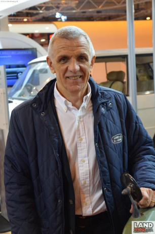 Marc Luini, le boss de Jaguar et Land Rover en France