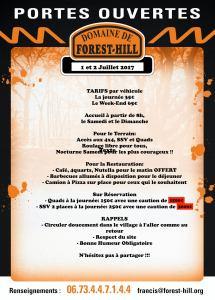 Portes ouvertes au Domaine de Forest Hill @ Domaine de Forest Hill | Montalet-le-bois | France