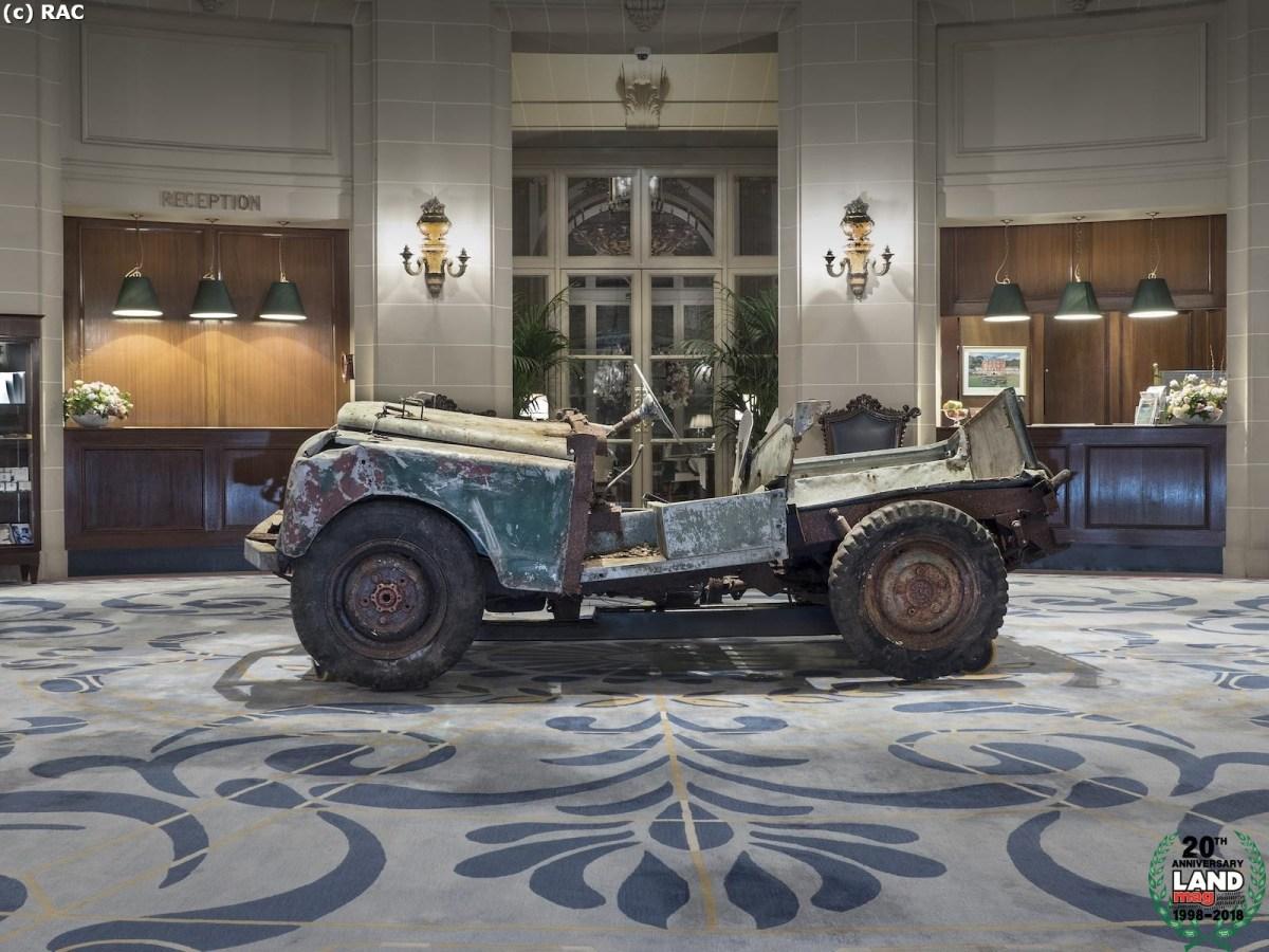 La première Land Rover Series I refait surface