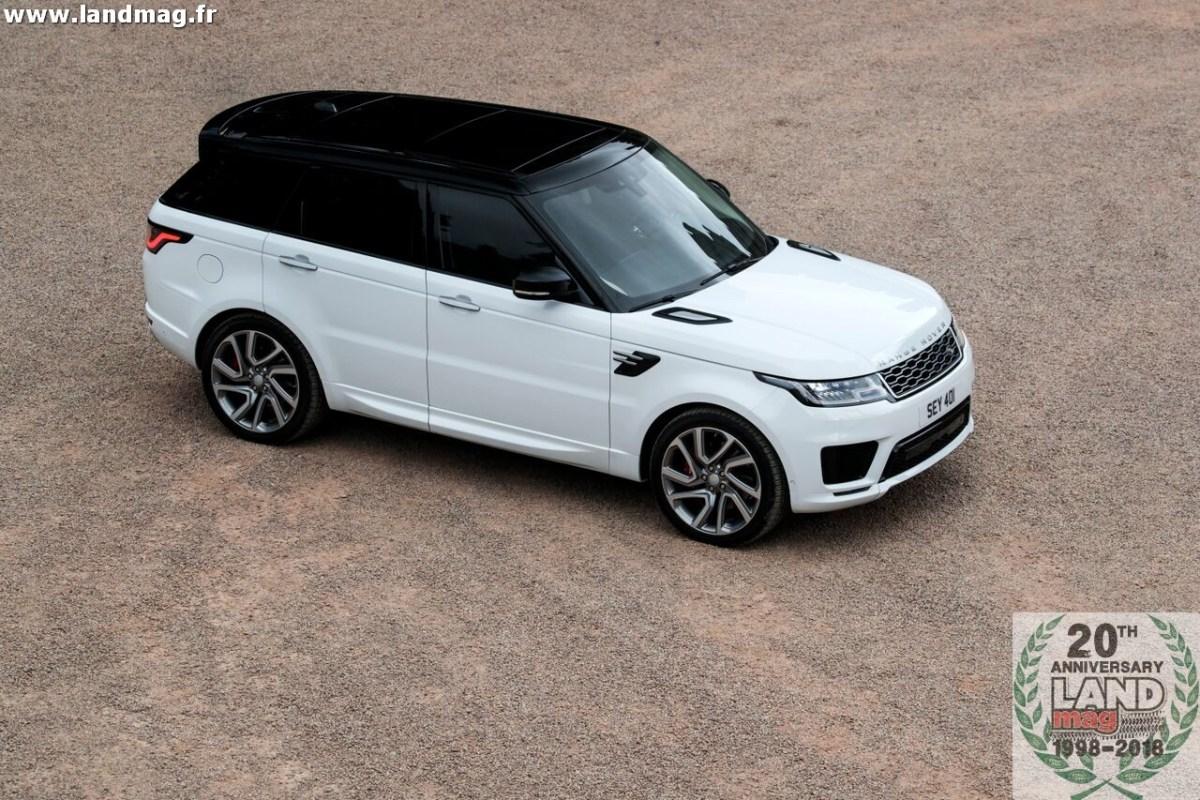Range Rover Sport 2019: les prix, les versions