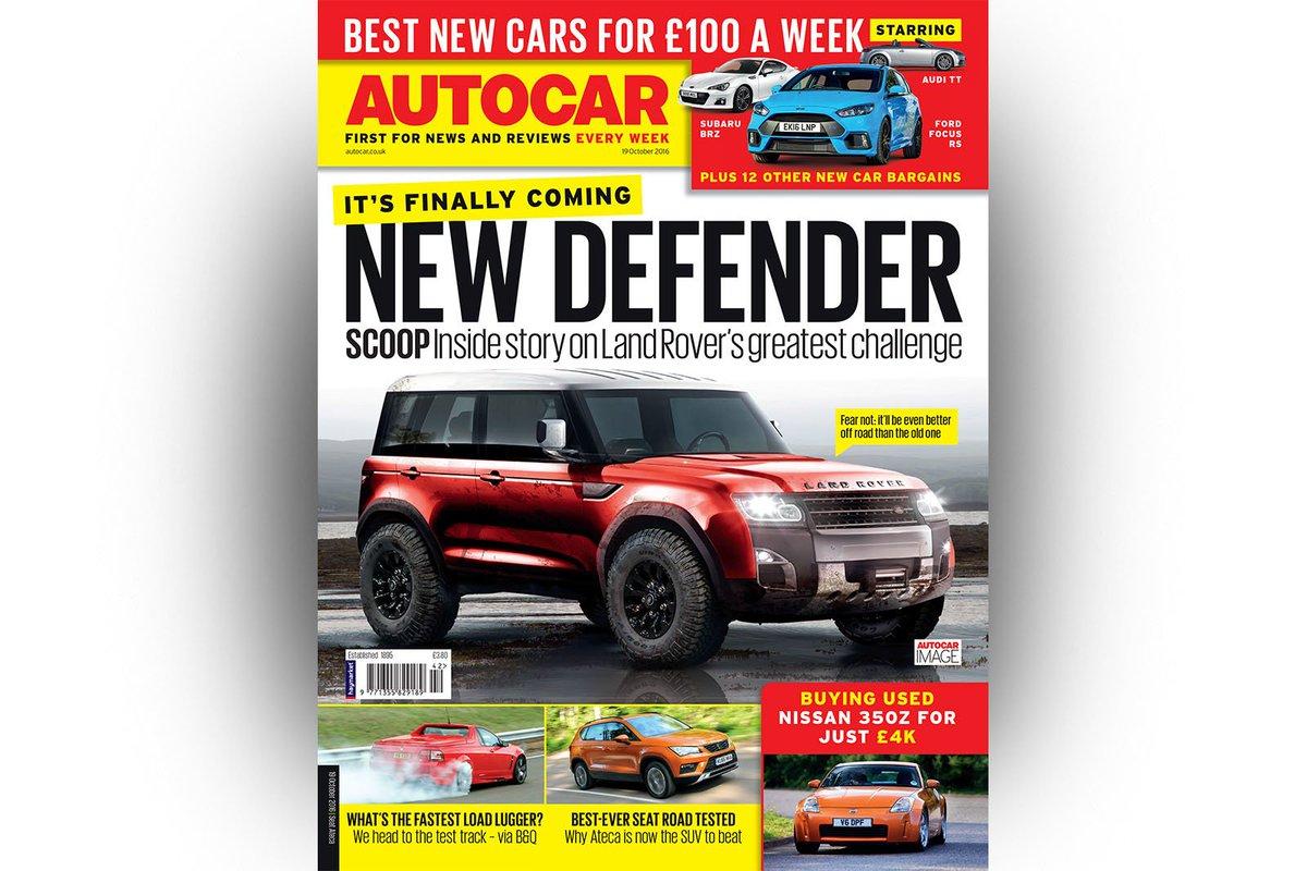 Nouveau Land Rover Defender: il est urgent d'attendre !