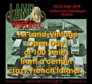 Land-Vintage Open Days (REPORTÉ) @ Moncetz-Longevas  | Moncetz-Longevas | Grand Est | France