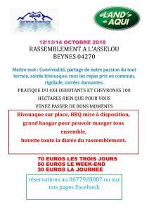 Rassemblement Land'Aqui &  4x4 Durance Aventure @ Beynes | Beynes | Provence-Alpes-Côte d'Azur | France