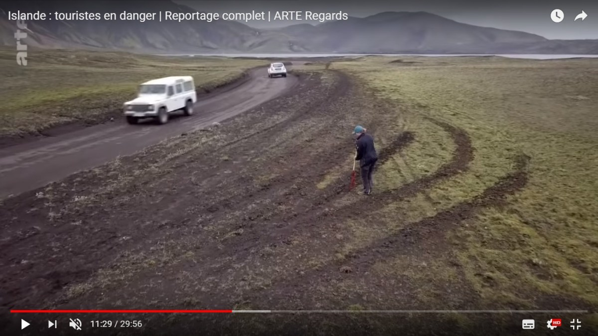 Vidéo: L'Islande en 4x4, attention, danger !