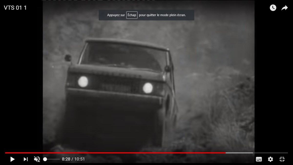 Vidéo: des Series et des Range Rover au Welsh Hill Rally de 1971!