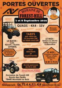 Portes Ouvertes Septembre Domaine de Forest Hill @ Montalet le Bois | Montalet-le-Bois | Île-de-France | France