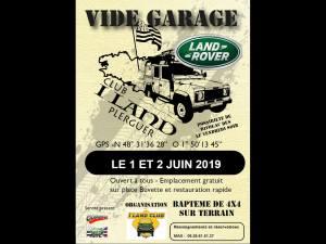 Vide-garage Land de Plerguer @ Plerguer