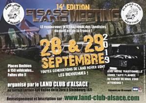 14° Elsass Land Meeting @ Steinbourg
