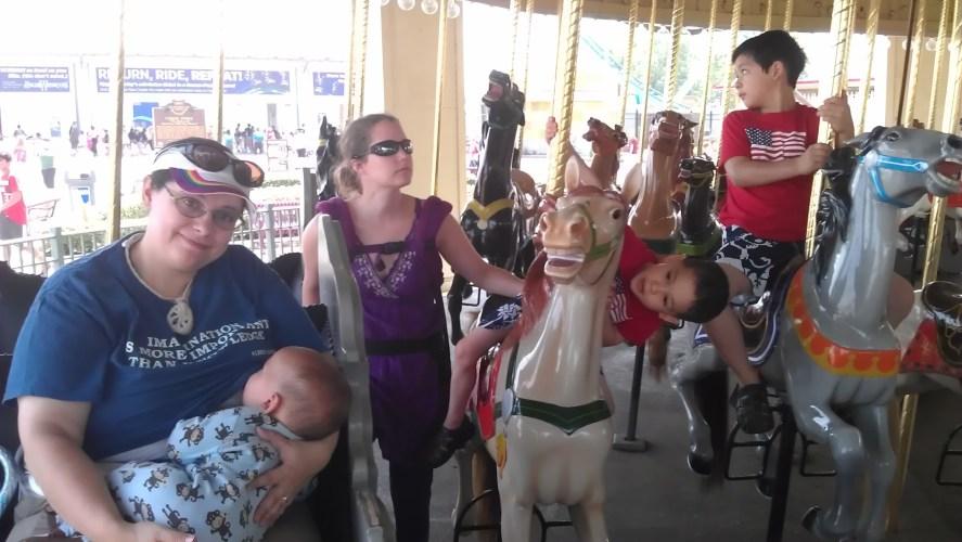 Cedar Point carousel