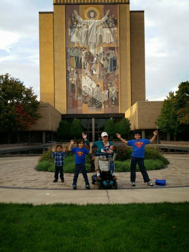 "Notre Dame's ""Touchdown Jesus"""