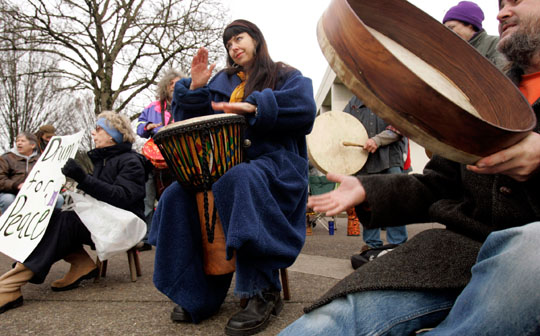 drumming for peace a self expression and leadership project