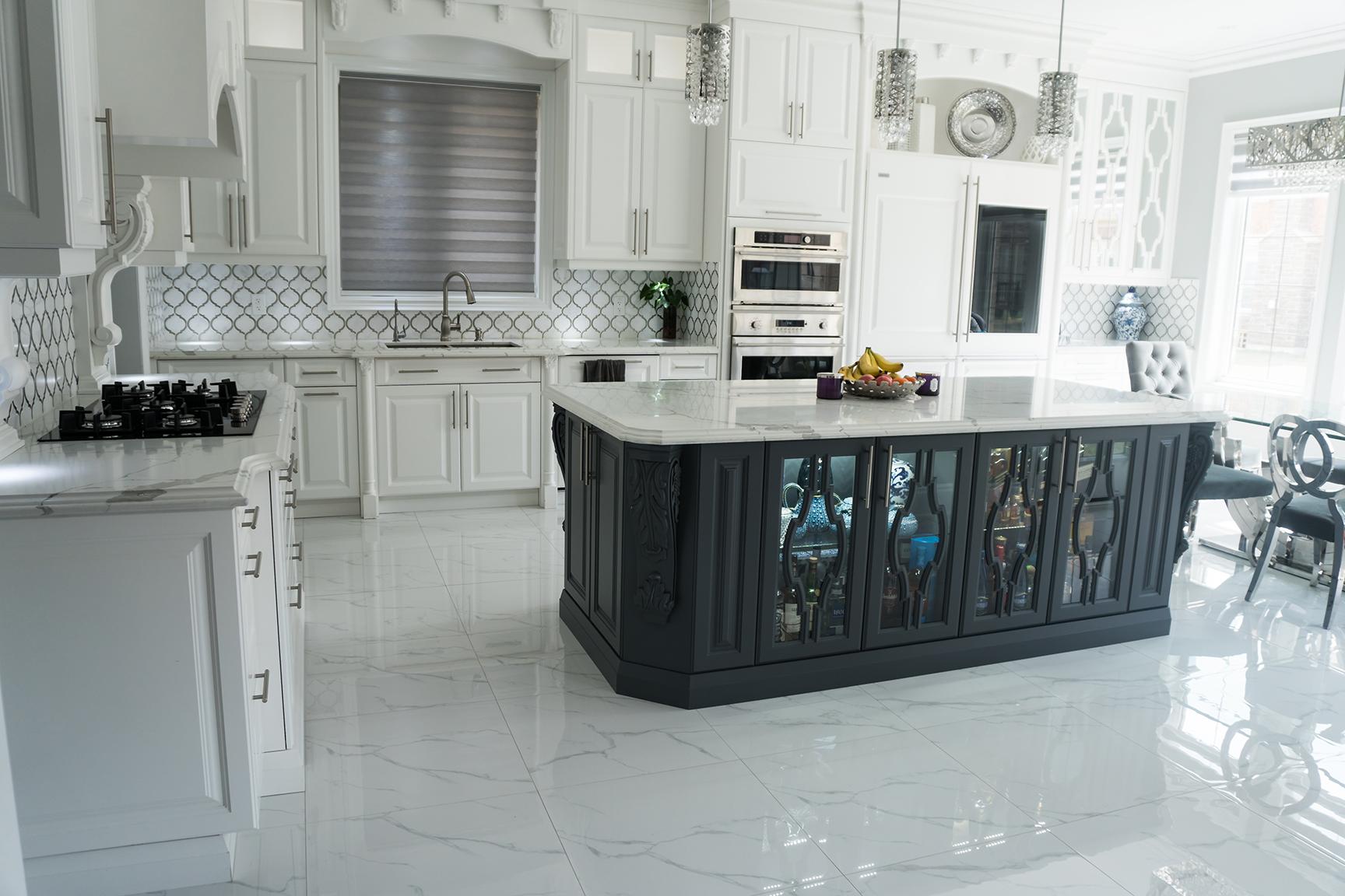 custom kitchen cabinetry food slicer oakville cabinets burlington company milton renovations mississauga cabinet refacing