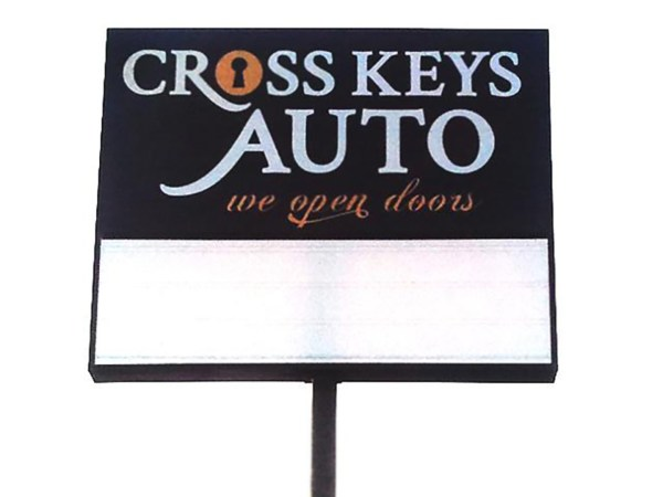 Cross Keys Auto is located at 14050 New Halls Ferry in Florissant 63031  (314)838-9911   www.crosskeysauto.com.