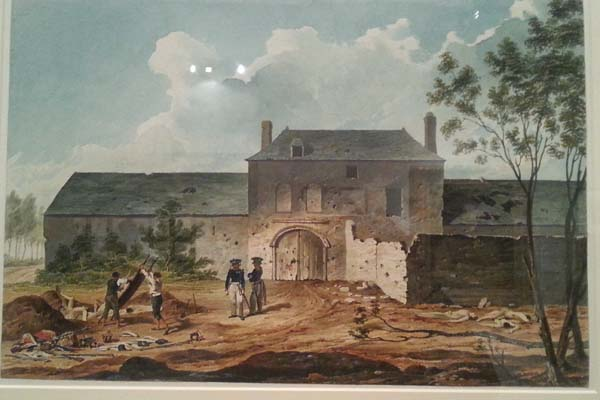 Holiday At Hougoumont At Waterloo Belgium The Landmark