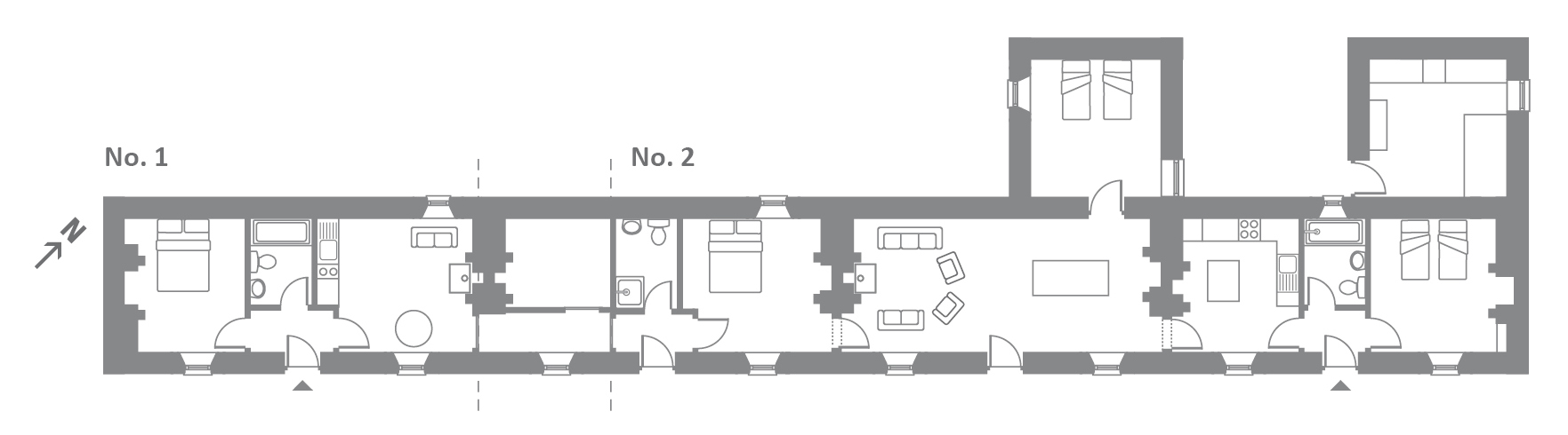 hight resolution of floor plans