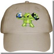 baseball cap khaki front