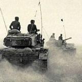 "Israeli tanks Sinai ""Kadesh"" campaign in 1956"