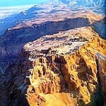 Masada: Palace Fortress refuge built by Herod the Great