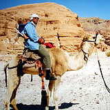 camel riding near Mount Sinai