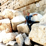 Massive stones from 2nd Temple destroyed by Titus the Roman in 70 A.D.
